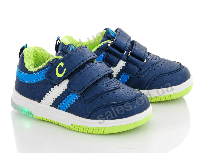 Style-baby-Clibee NF739 d.blue-appelgreen